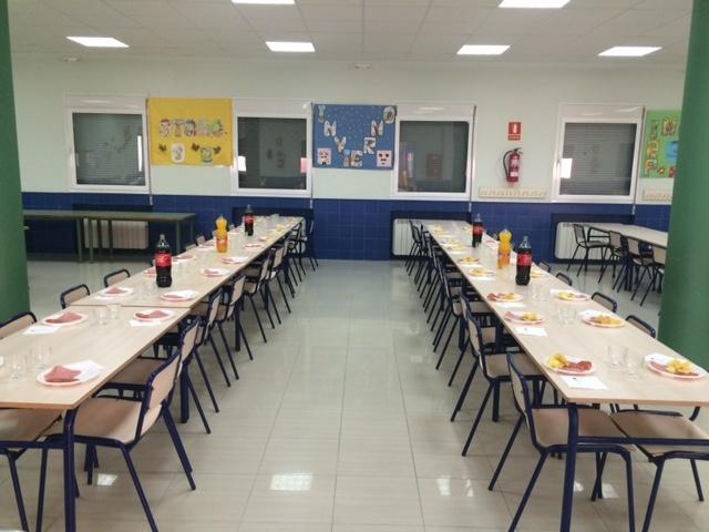 Servicios ceip mart n chico illescas toledo for Comedor escolar proyecto